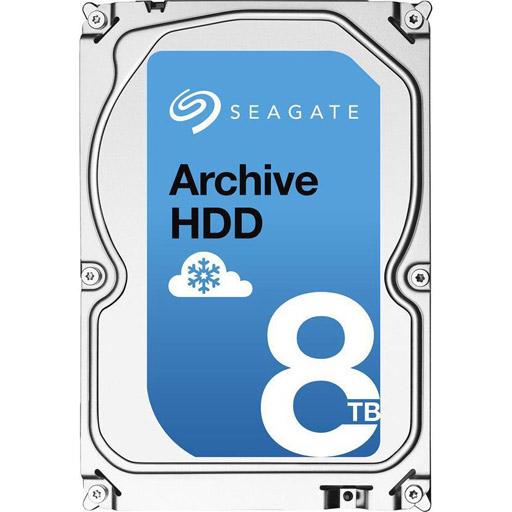 Seagate Archive HDD 8TB 4Kn 5900RPM 128MB 3.5inch SATA