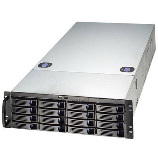 Chenbro 3U 16-bay High Dense Storage Server Chassis