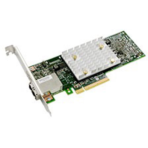 Adaptec 1100-8e 12Gb/s HBA Adapter 8 port Ext MiniSAS HD SFF-8644