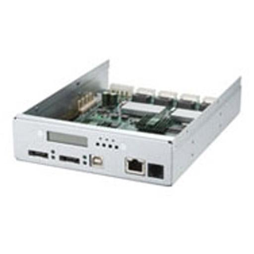 Areca External RAID 0/1/3/5/6 Controller 2x iSCSI Host,1xSAS Exp.,16xSAS HDD
