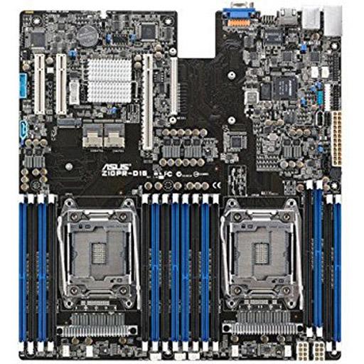 ASUS Mainboard Z10PR-D16 EEB LGA2011-3, 2CPU, 16x DDR4 max 1TB REG ECC, 3x PCIe, ASM-iKVM, 3x GbE, 9x SATA, 1x M.2 SATA