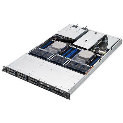 ASUS Barebone RS700-E9-RS12 1U, 12x 2.5ich Hot-swap, 2x LGA3647, 24x DDR4 max 3TB, ASM-iKVM, 2x GbE, 3x PCIe, 1x OCP, 10x SATA, 2x M.2, Redundant PSU