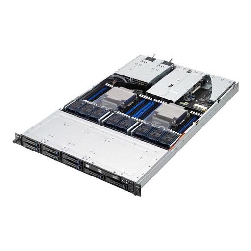 ASUS Barebone RS700-E8-RS8 V2 1U, 8x 2.5inch Hot-Swap, 2x LGA2011-3, 24x DDR4 max 1.5TB, ASM-iKVM, 2x GbE, 3x PCIe, 1x OCP, 2x MiniSAS, 2x SATA, 1x M.2, Redundant PSU