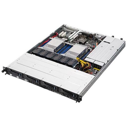ASUS Barebone RS500-E8-RS4 V2 1U, 4x 3.5inch Hot-swap, 2x LGA2011-3, 16x DDR4 max 1TB, ASM-iKVM, 2x GbE, 2x PCIe, 1x OCP, 9x SATA, 1x M.2, Redundant PSU