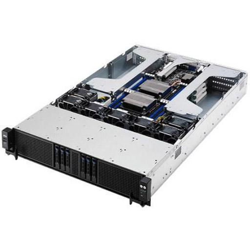 ASUS Barebone ESC4000 G3S 2U, 6x 2.5inch Hot-swap, 2x LGA2011-3, 16x DDR4 max 1TB, ASM-iKVM, 2x GbE, 8x PCIe, 6x SATA, Redundant PSU