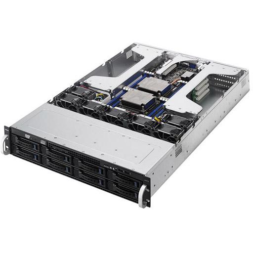 ASUS Barebone ESC4000 G3 2U, 8x 3.5inch Hot-swap, 2x LGA2011-3, 16x DDR4 max 1TB, ASM-iKVM, 2x GbE, 8x PCIe, 8x SATA, Redundant PSU