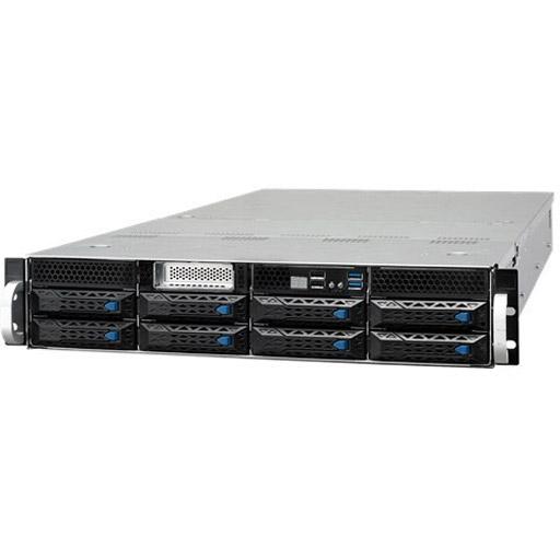 ASUS Barebone ESC4000 G4 2U, 8x 3.5inch Hot-swap, 2x LGA3647, 16x DDR4 max 2TB, ASM-iKVM, 2x GbE, 11x PCIe, 8x SATA, 2x NVMe, 1x M.2, Redundant PSU