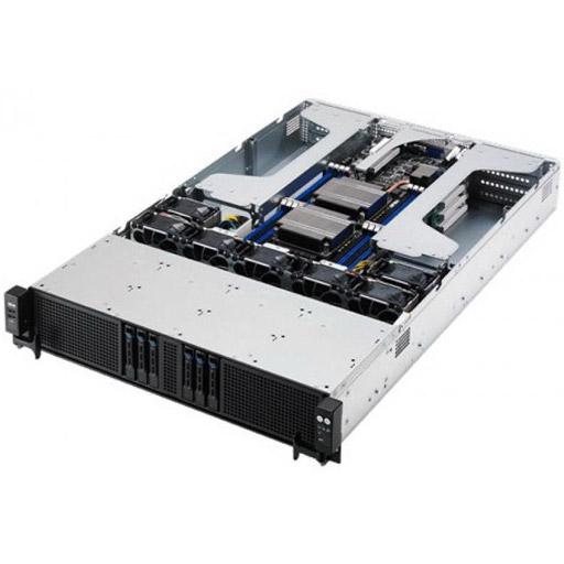 ASUS Barebone 4 Node RS720Q-E8-RS8-P 2U, 8x 2.5inch Hot-swap, Redundant PSU. Per Node: 2x LGA2011-3, 16x DDR4 max 1TB, ASM-iKVM, 2x GbE, 2x PCIe, 1x M.2