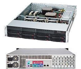Supermicro 2U Server, 12x 3.5 inch, 2x Intel Silver 4110, 1x 8GB, 1x 240GB SSD, Redundant PSU